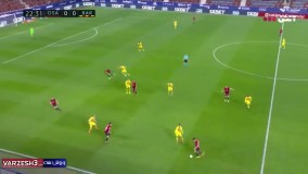 خلاصه بازی اوساسونا ۰ - بارسلونا ۲