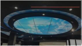 نصب آسمان مجازی _ نصب پنل های پر قدرت و استاندارد LED