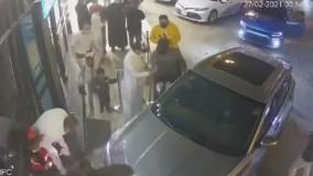 زن عربستانی با خودرو چند نفر را زیر گرفت
