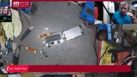 آموزش سیم کشی روی برد یا فلت گوشی موبایل