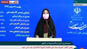 آخرین آمار کرونا ۱۷ اسفند ۹۹: جان باختن ۹۳ بیمار در شبانه روز گذشته