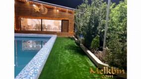 1500 متر باغ ویلای مشجر با 150 متر ویلای شکیل در شهریار