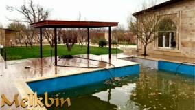 1000 متر باغ ویلای مشجر در با 130 متر ویلای بازسازی شده شهریار