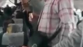 ویدئویی از وضعیت اسف بارِ پرواز آبادان به مشهد