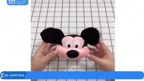 عروسک جورابی - آموزش دوخت عروسک حیوانات