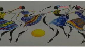 ویترای - آموزش نقاشی ققنوس روی شیشه