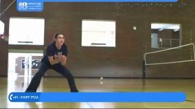 والیبال به کودکان - دفاع داخل زمین