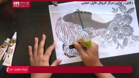 ویترای - آموزش نقاشی روی شیشه