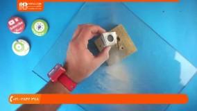 ساخت بدلیجات با رزین - حلقه چوب کریستال