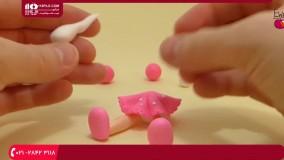 آموزش عروسک خمیری-آموزش ساخت عروسک بامبولا