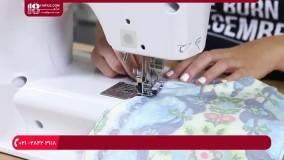 دوخت سرویس آشپزخانه- آموزش دوخت دستکش فر