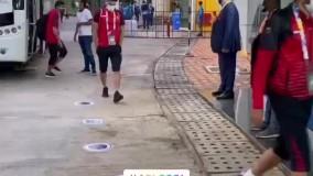 ورود کاروان پرسپولیس به ورزشگاه فاتوردا