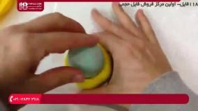 آموزش ساخت صابون - ساخت صابون های تزیینی ژله ای