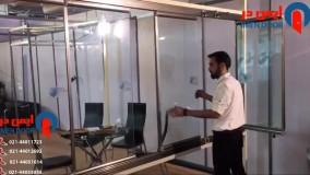 نصب شیشه بالکن تاشو