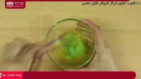 اسلایم - آموزش ساخت اسلایم با مایع و خمیردندان