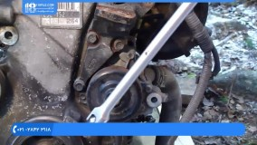 تعمیر موتور تویوتا - واترپمپ بازکردن موتور