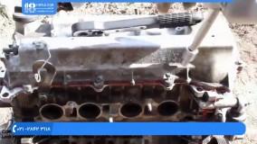 تعمیر موتور تویوتا - چسباندن واشرسرسیلندر موتور