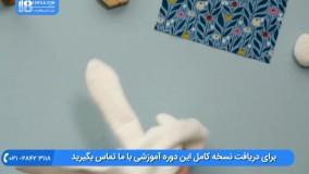 عروسک پولیشی - آموزش دوخت عروسک خرگوش با پولیش