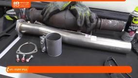 تعمیر اگزوز - تعویض سیستم اگزوز خودرو