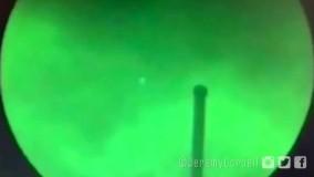 انتشار ویدئوی بشقاب پرنده