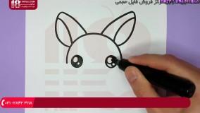 آموزش نقاشی به کودکان - نحوه نقاشی کردن خرگوش جذاب با هویج1