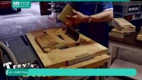 ساخت کندو - برش دستگیره های دی شکل بدنه کندو لانگستروت
