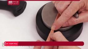 آموزش جواهر سازی - مهرزنی حروف برروی دست بند