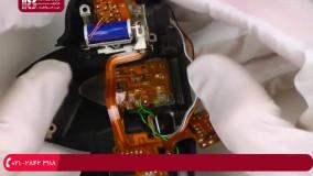 آموزش تعمیر دوربن عکاسی - بررسی اجزای داخلی دوربین و تعمیر آن ها