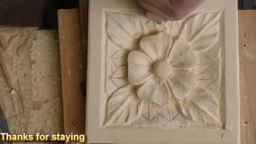 آموزش سنگ تراشی - حکاکی شکل رز - بخش دوم