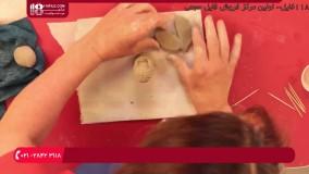 آموزش مجسمه سازی - نحوه ساختن ظرف آبنبات - پایان فرشته