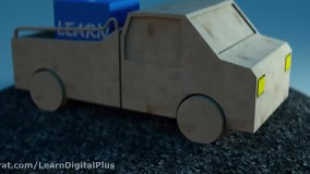 مدل سازی ماشین LowPolay در سینما4دی
