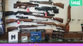 فروشگاه شکار استور فروش انواع تفنگهای بادی 09120043059