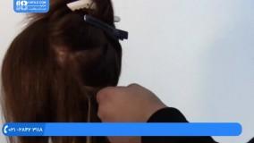 اکستنشن مو - نحوه نصب اکستنشن مو با میکرو رینگ - پارت اول