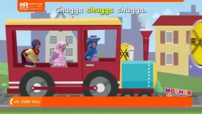 انیمیشن mother goose club - قطار حیوانات