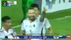 گل اول الوحده امارات به پرسپولیس ایران توسط ماتائو در دقیقه 5