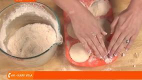 آموزش کوکتل پدیکور - کوکتل پدیکور مدل کاپ کیک