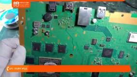 آموزش تعمیر پلی استیشن - شکستن پورت HDMI
