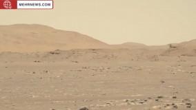 سومین پرواز هلیکوپتر مریخی فیلمبرداری شد