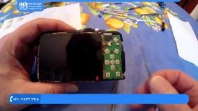 آموزش تعمیر دوربیت کامپکت -  تمیز کردن سنسور