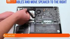 آموزش تعمیر مک بوک - تعویض wifi-bluetooth مک بوک پرو 13 اینچ