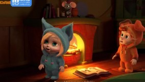 انیمیشن دیو اند اوا - آموزش الفبا با آهنگ