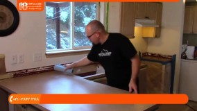 آموزش نصب دیوارپوش اپوکسی | ترمیم و اپوکسی تخته ورقه ورقه قدیمی