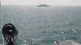 ویدئوی  نیروی دریایی آمریکا درباره رویارویی ایران