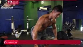 آموزش شش تیکه  کردن شکم | تمرین عضلانی