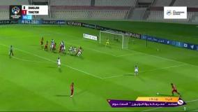 خلاصه بازی شارجه امارات 0 - تراکتور ایران 2