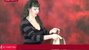 آموزش اکستنشن مو   پوشش موهای اکستنشن مو