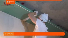 آموزش اجرای کناف کاری - نصب و راه اندازی سقف دکوراتیو کناف با نور پس زمینه هال