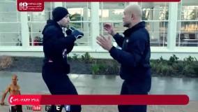 آموزش دفاع شخصی - در مبارزه خیابانی پانچ نکنید