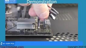 آموزش تعمیر سخت افزار کامپیوتر - کابل های متصل به مادربرد
