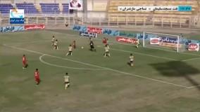 خلاصه بازی نفت مسجدسلیمان 0 - نساجی 2